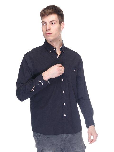 Сорочка чорна Gant 3188615