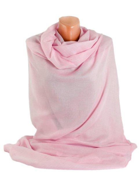 Шаль світло-рожева Traum 3256471