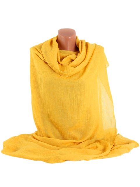 Шаль жовта Traum 3256474