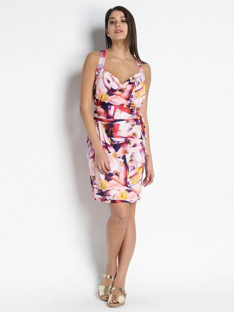 Сукня абстрактного забарвлення Parah 3269412