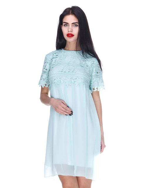 Сукня м'ятного кольору Atelier private 3255721