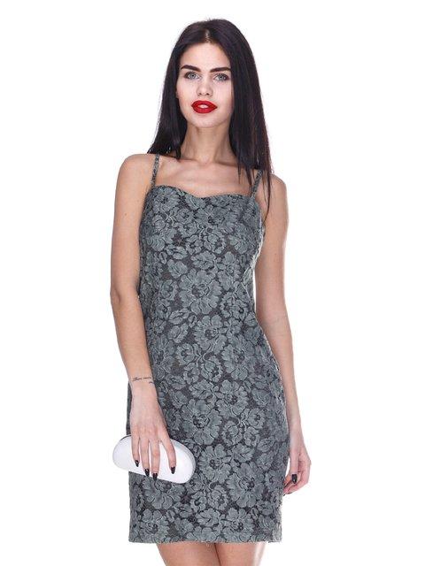 Сукня кольору хакі Atelier private 3255727