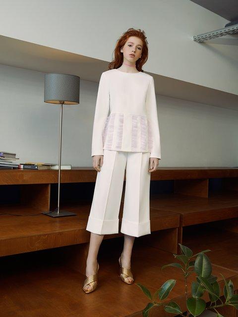 Блуза белая ANNA YAKOVENKO 3225557