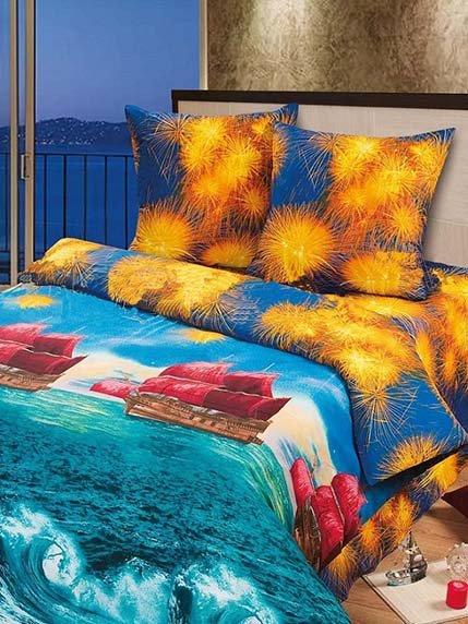 Комплект постельного белья двуспальный (евро) LOTUS 3283531