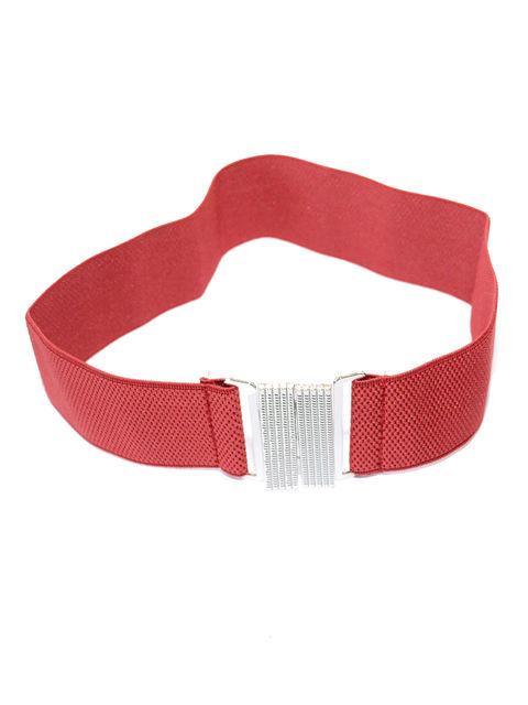 Пояс-резинка червоний Fashion Look 3298509