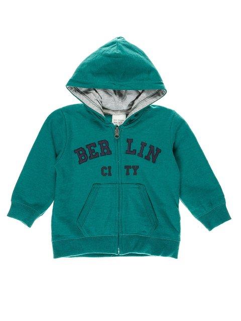 Толстовка зеленая Zara Kids 3265153