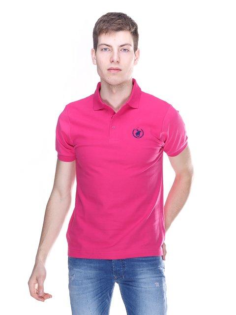 Футболка-поло рожева Polo Club 3180247