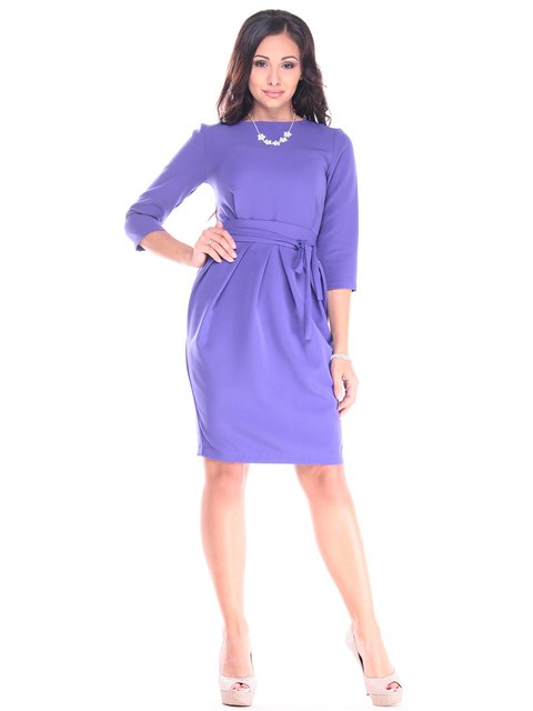 Платье сиреневое Maurini 2918017