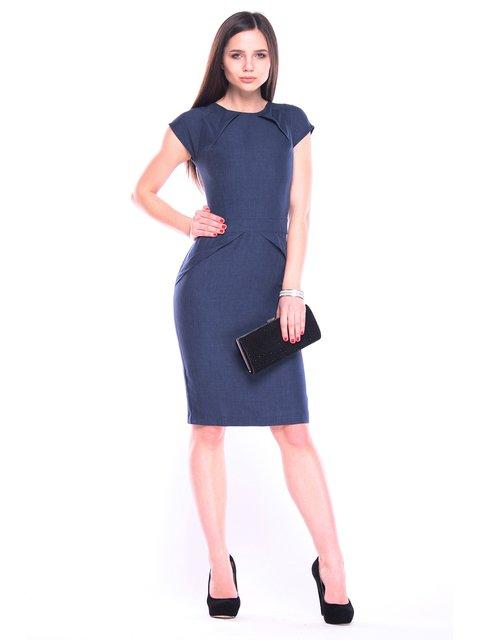 Платье темно-синее Rebecca Tatti 3091052