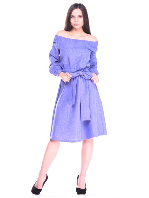 Платье фиолетовое Laura Bettini 3258183