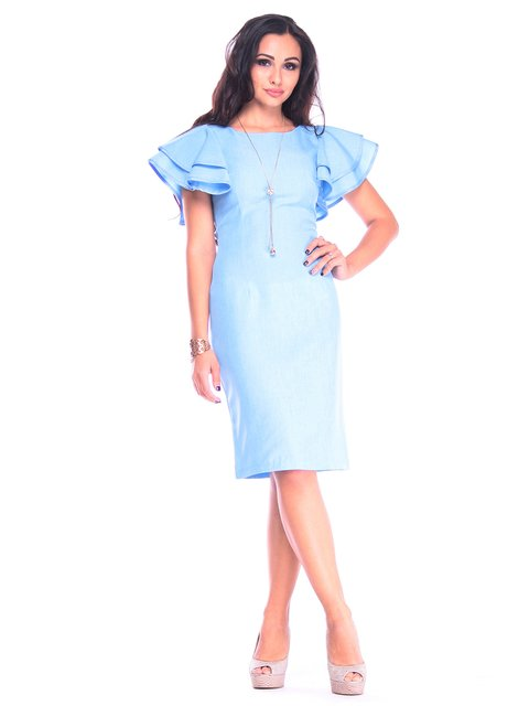 Сукня блакитна Maurini 3258214