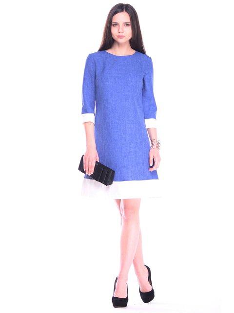 Платье сине-белое Maurini 3258271