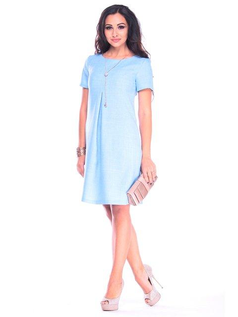 Платье голубое Rebecca Tatti 3258332