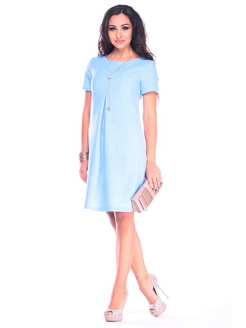 Сукня блакитна Rebecca Tatti 3258332