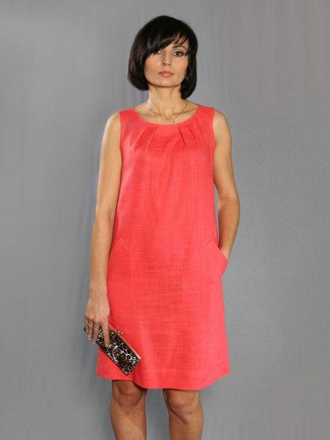 Сукня коралова LoveVita 3253660