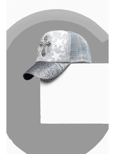 Бейсболка серебристая Gepur 3311532