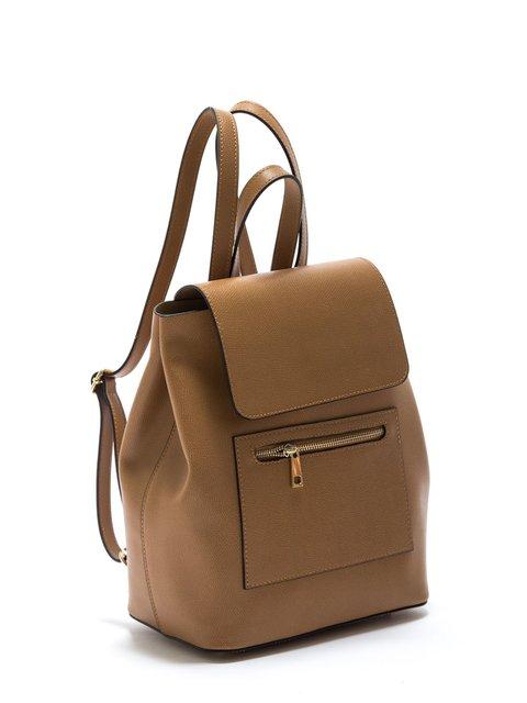 Рюкзак цвета коньяка Patrizia Lucchini 3318229
