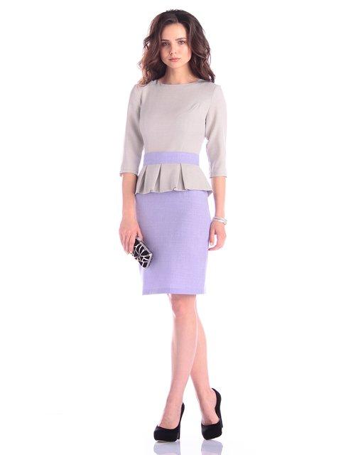Платье серо-сиреневое Dioni 3323486