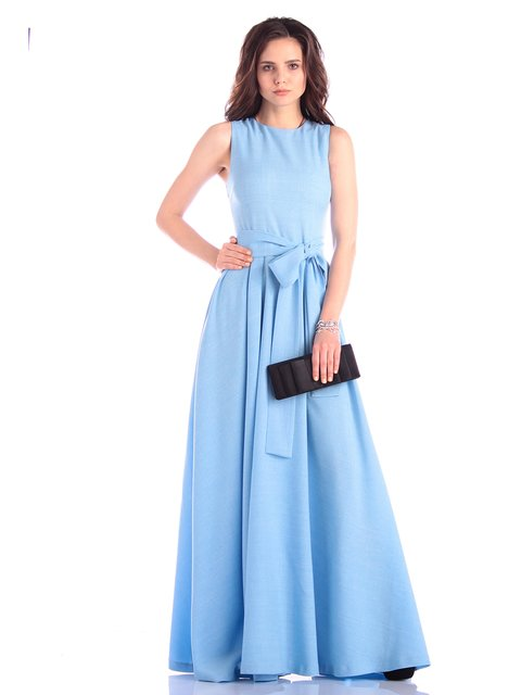 Сукня блакитна Rebecca Tatti 3323555