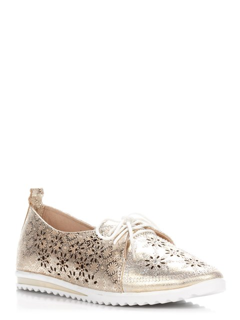 Туфли золотистые Foletti 3116330