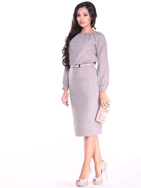 Сукня кольору мокко Dioni 3184389