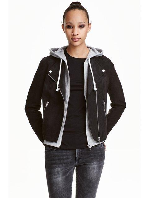 Куртка черная H&M 3239542
