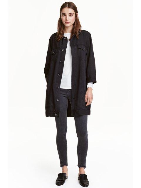 Куртка черная H&M 3254284