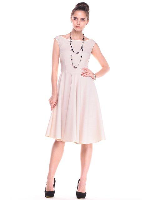 Платье светло-бежевое Maurini 2878809