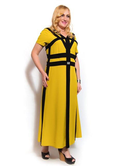 Платье горчичного цвета LibeAmore 3312437