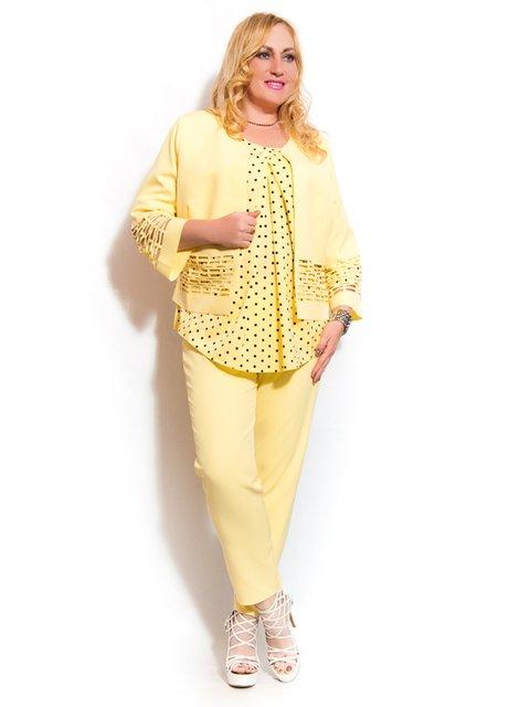 Костюм: жакет, блуза и брюки LibeAmore 3312446