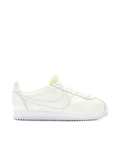 Кроссовки белые Classic Cortez Leather PRM Nike 3342957