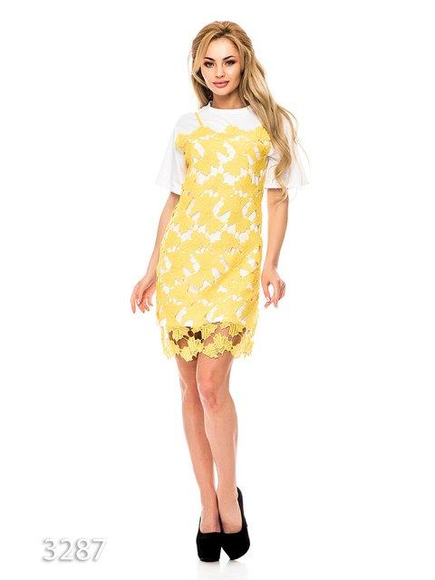 Платье желтое Magnet 3352618