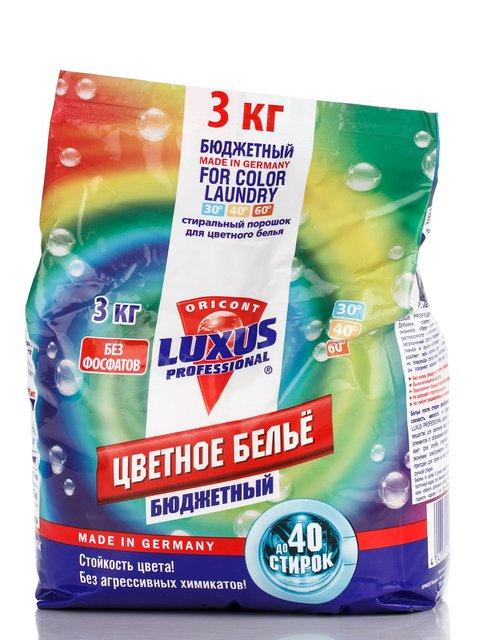 Порошок для кольорової білизни (3 кг) Luxus Professional 3362064