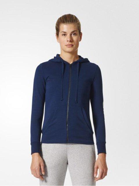 Толстовка синяя Adidas 2917767