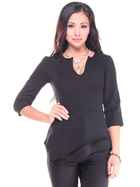 Блуза чорна Dioni 2917888