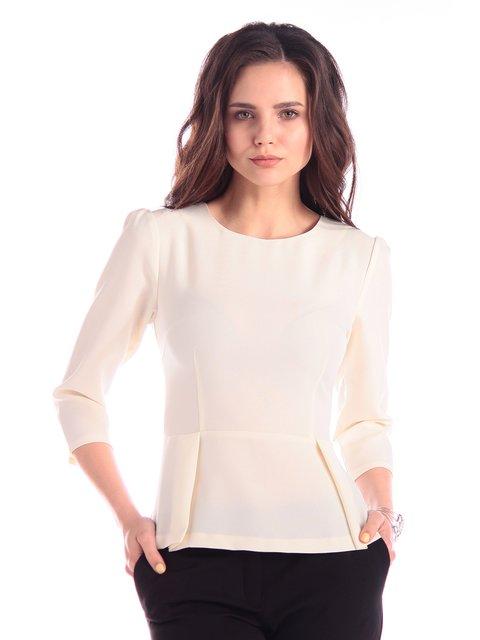 Блуза молочного цвета Maurini 3348034