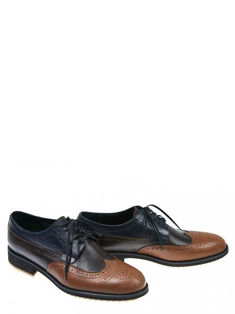 Туфлі триколірні LeoModa 2813747