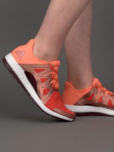 Кроссовки оранжевые Adidas 3198266