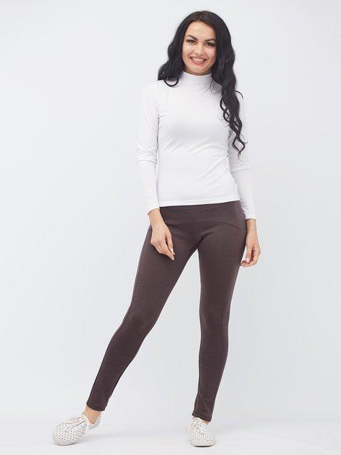 Леггинсы коричневые Alana 3381301