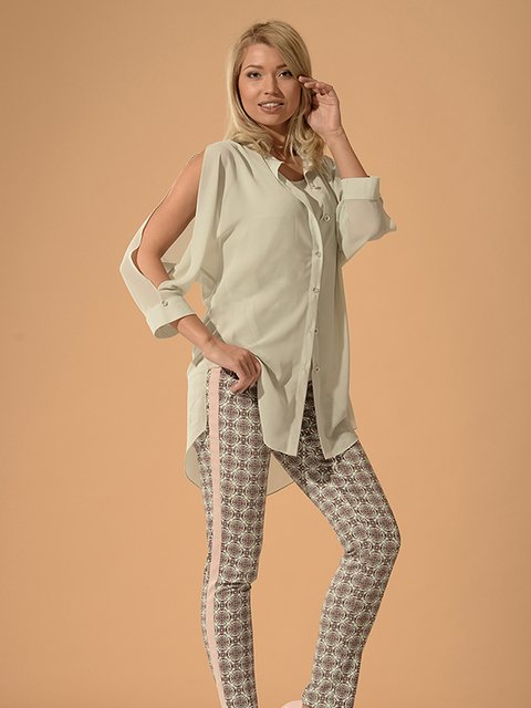 Блуза серая Lesya 3379701