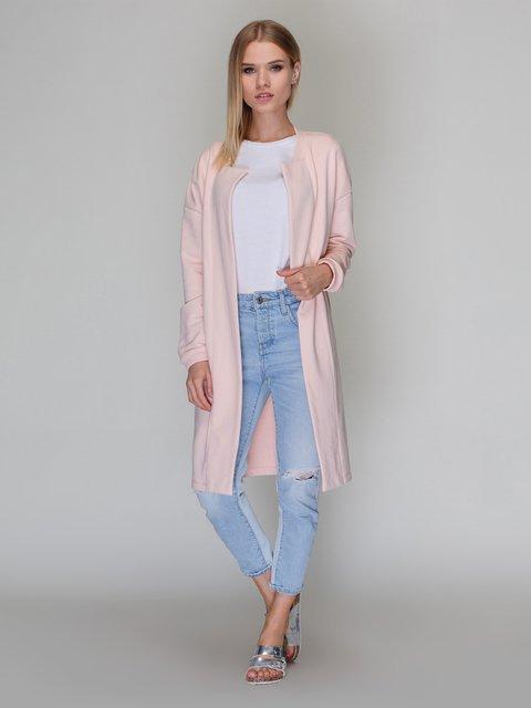 Кардиган персикового цвета Loca 3361314