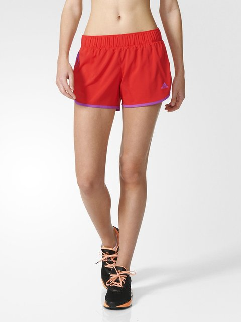 Шорты красные Adidas 2978121