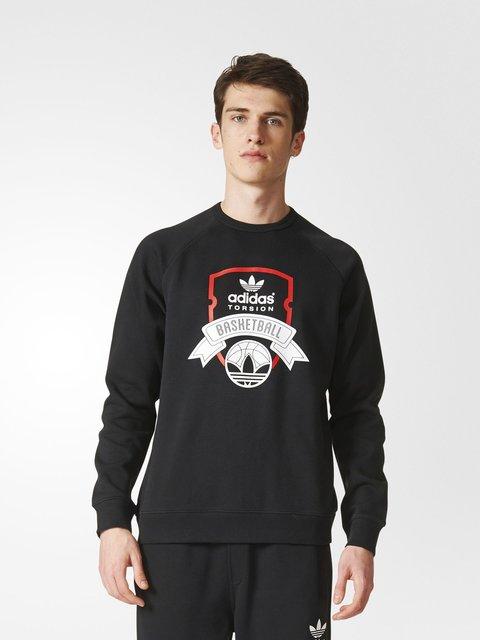 Джемпер черный Adidas 3023025