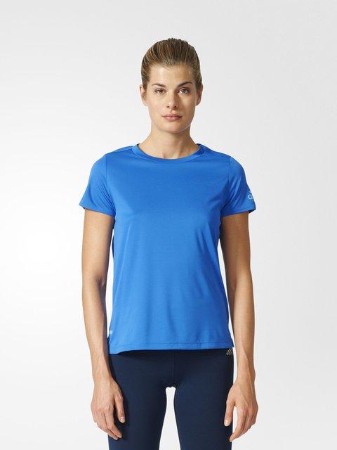 Футболка синяя Adidas 3198323