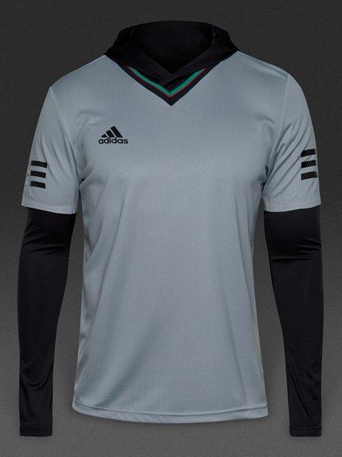 Комплект: футболка и лонгслив Adidas 3297172