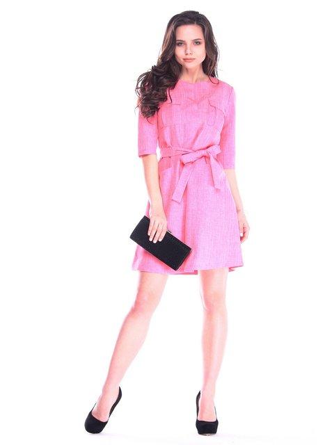 Платье кораллового цвета Dioni 3172707