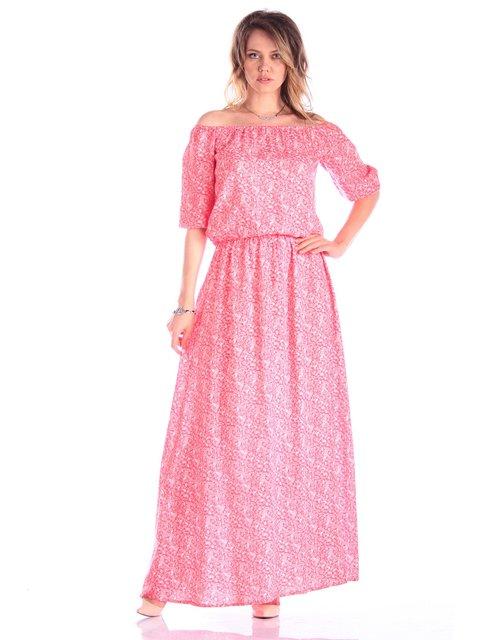 Сукня рожева в принт Victoria Loks 3382671