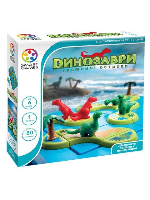 Гра «Динозаври. Таємничі острови» Smart Games 3389777