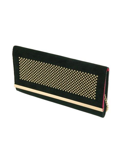 Клатч чорний Suiteblanco 3390935