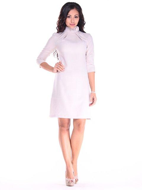 Платье бежевое Maurini 2900703